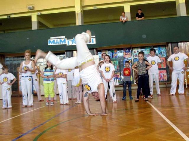 Lubi�ska sekcja Capoeira zaprasza