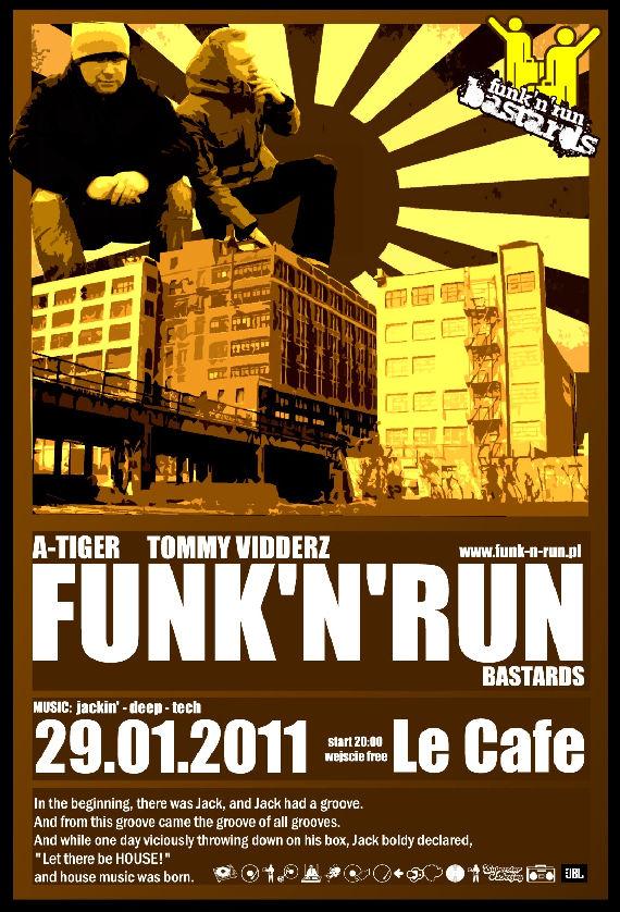 Funk'N'Run w Le Cafe