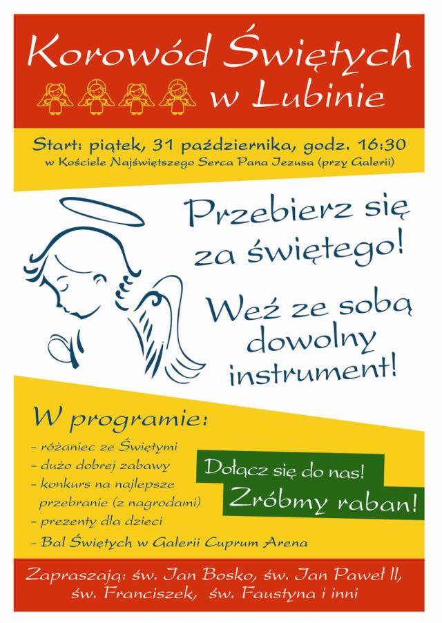 Korow�d �wi�tych w Lubinie