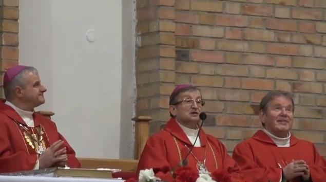 Msza św. w intencji górników - video