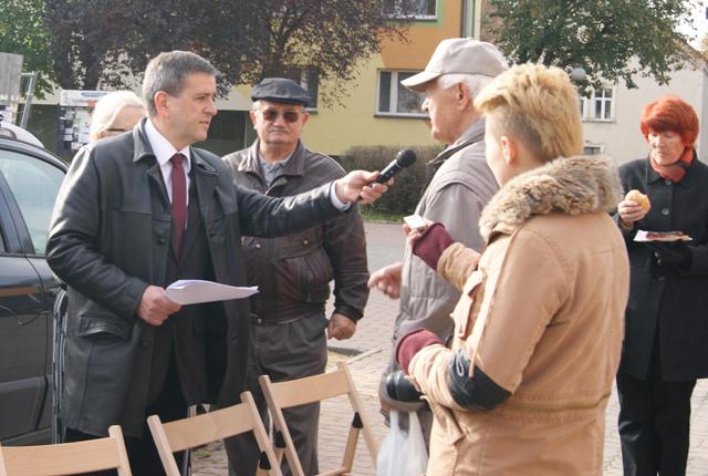 Olszowiak- wierny mieszka�com, przeciwny uk�adom - relacja filmowa