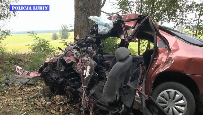 �miertelny wypadek ko�o Pieszkowa - film