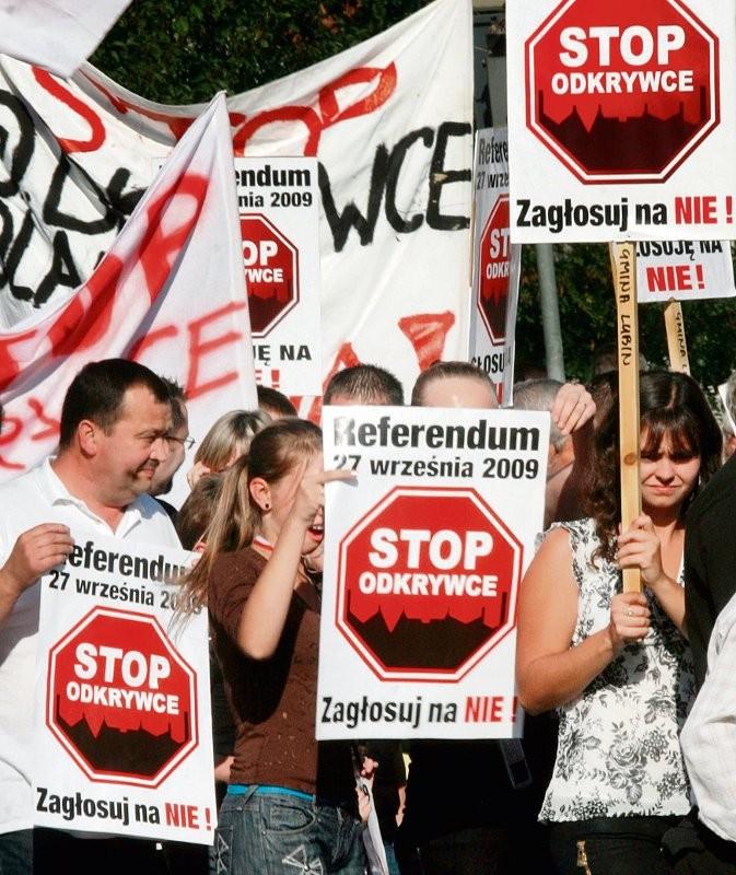 Aktywiści antyodkrywkowi z Serbii przyjadą do Lubina na konferencję z okazji trzeciej rocznicy referendum