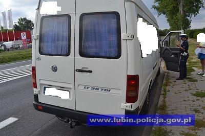 """Akcja """"Truck i bus"""" policji"""