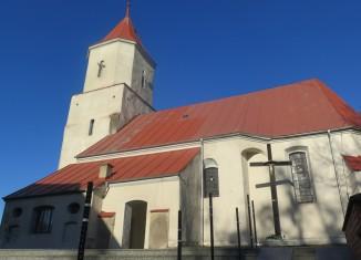Nowe schody w Kościele św. Józefa Robotnika w Gorzycy