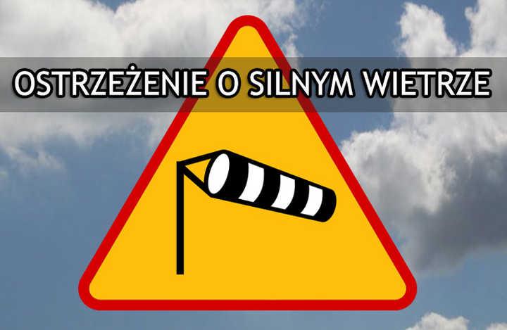 Ostrzeżenia meteorologiczne - silny wiatr