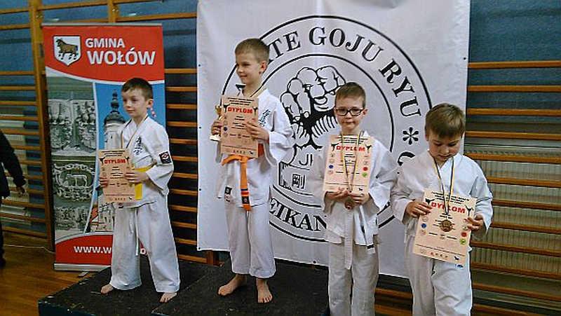 """Otwarty Turniej Karate Goju Ryu """"WO��W CUP' 2016"""""""