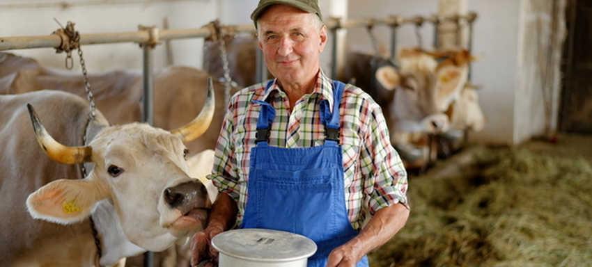 Rolnik sprzeda swoją żywność bez pośredników