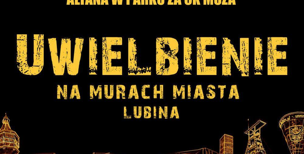 Wielbienie w Lubinie ma murach miasta