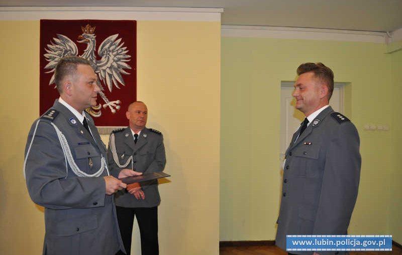 Zmiany kadrowe w lubińskiej policji