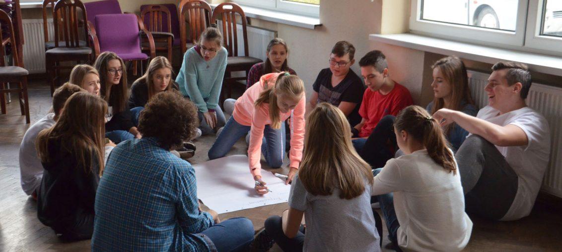"""Uczniowie Gminnego Gimnazjum w programie """"EuroWeek – Szkoła Liderów"""""""