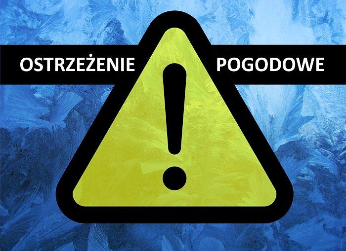 Oblodzenia – ostrzeżenie pogodowe!